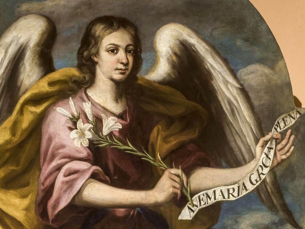 arcángel gabriel mensajero de dios