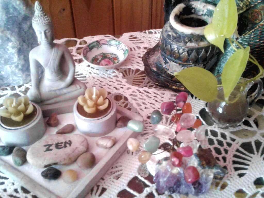 altar para meditar