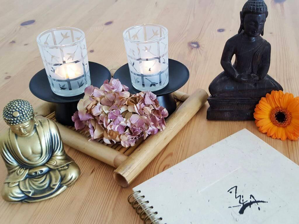 altar de meditación