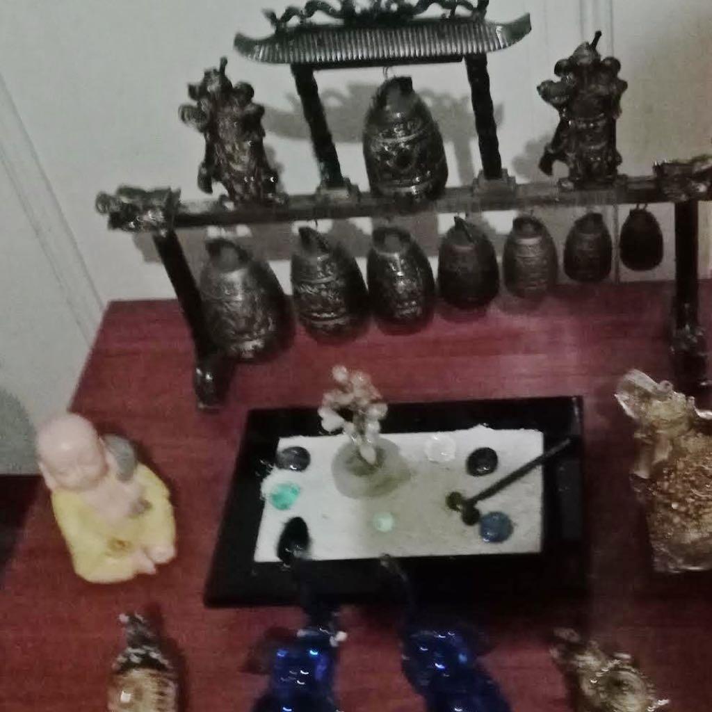 altar de meditación para rezar