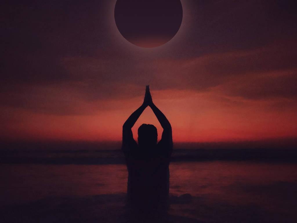meditación luna de fresa